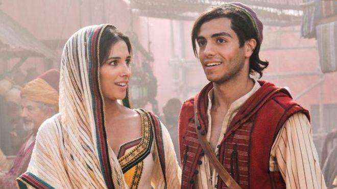 Aladdin casts box office spell 1