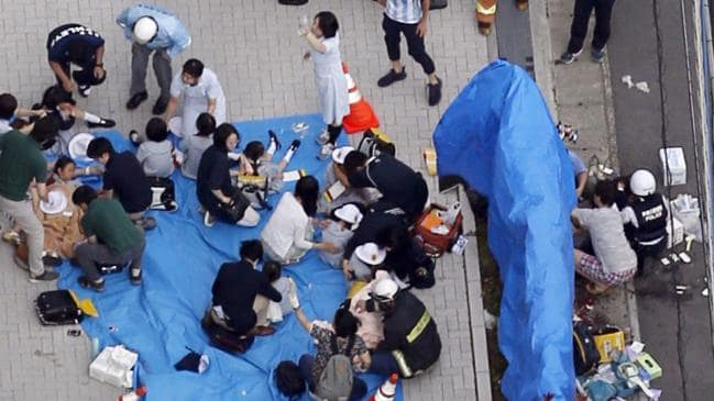 Child among three dead in Kawasaki stabbing 19
