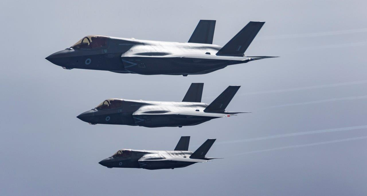 F35 Lightnings Jets arrive for Training in Cyprus 1