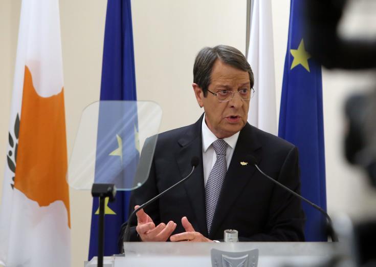 "Anastasiades describes Turkish activities in Cyprus' EEZ as ""a second invasion"" 15"