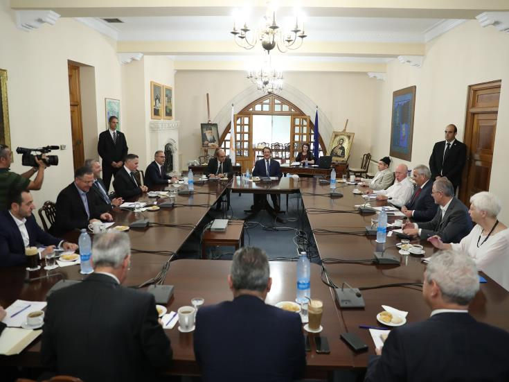 National Council convenes to discuss Turkish provocations in Cyprus' EEZ 1