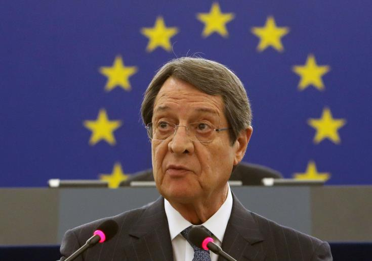 Anastasiades to brief Informal European Council on Turkey's provocations in Cyprus' EEZ 1