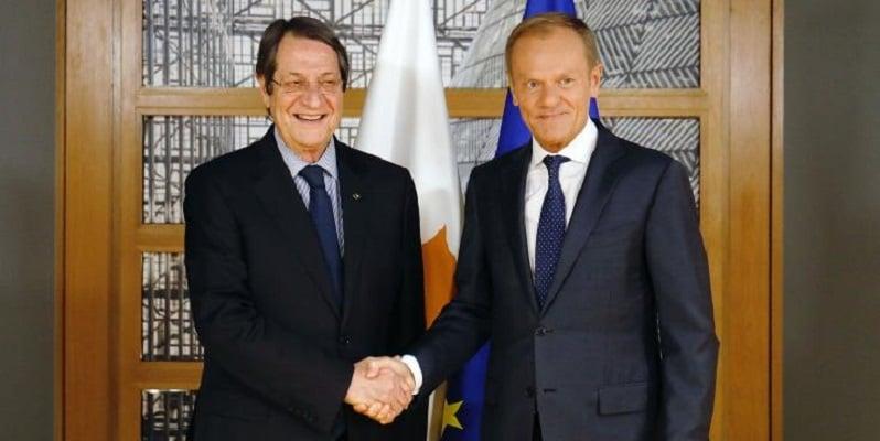 Anastasiades satisfied with EU solidarity 12