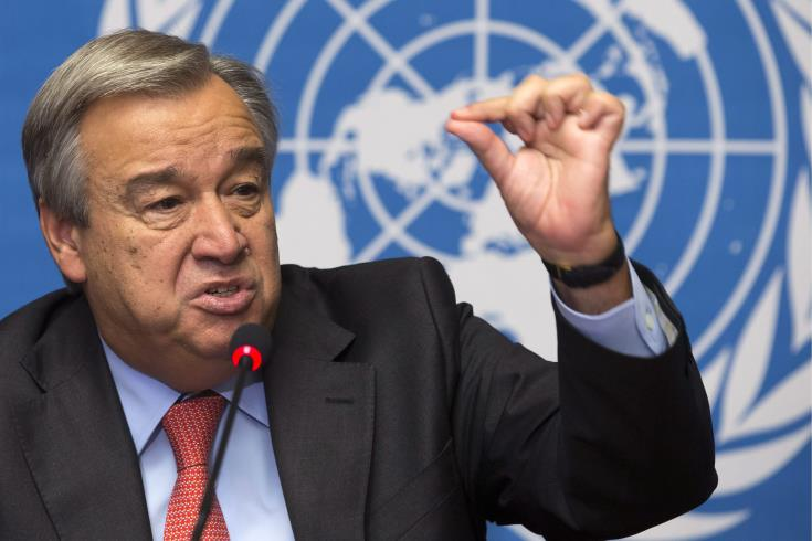 UNSG following developments in Cyprus' EEZ with concern 9