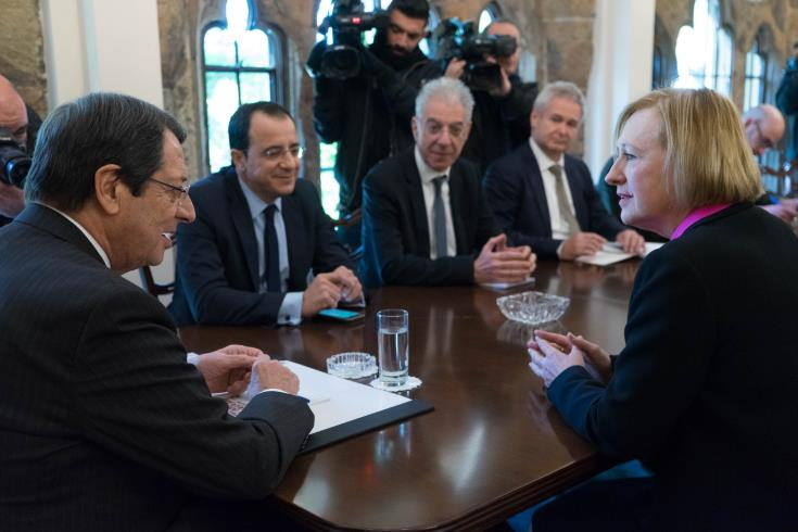 Anastasiades to meet with UN representative in Cyprus on Friday 1