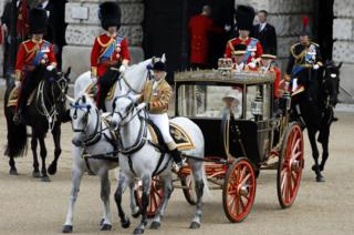 Trooping the Colour parade marks Queen's official birthday 1