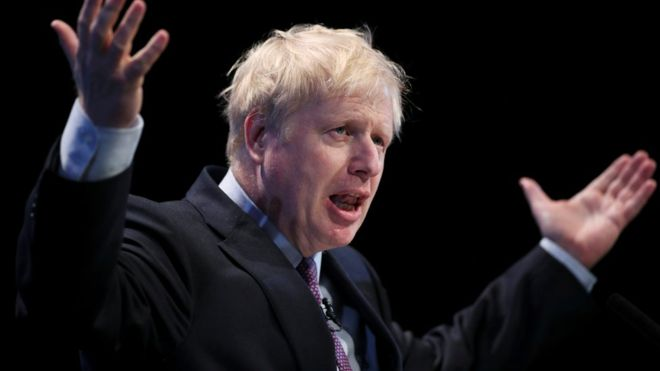 Boris Johnson refuses to answer questions over row with partner 15