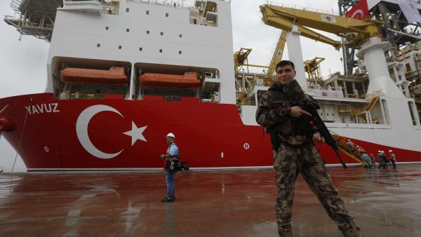 EU prepares to levy sanctions on Turkey over gas drilling 12