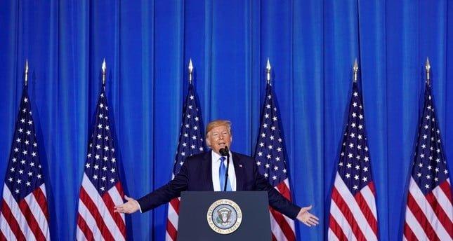 Trumps Press Briefing in Osaka on Turkey 18