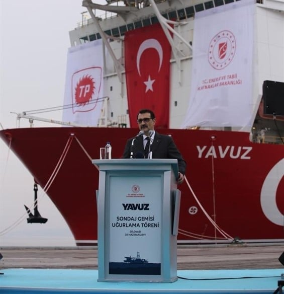 """Dönmez: """"Yavuz will complete its operations in three months"""" 16"""