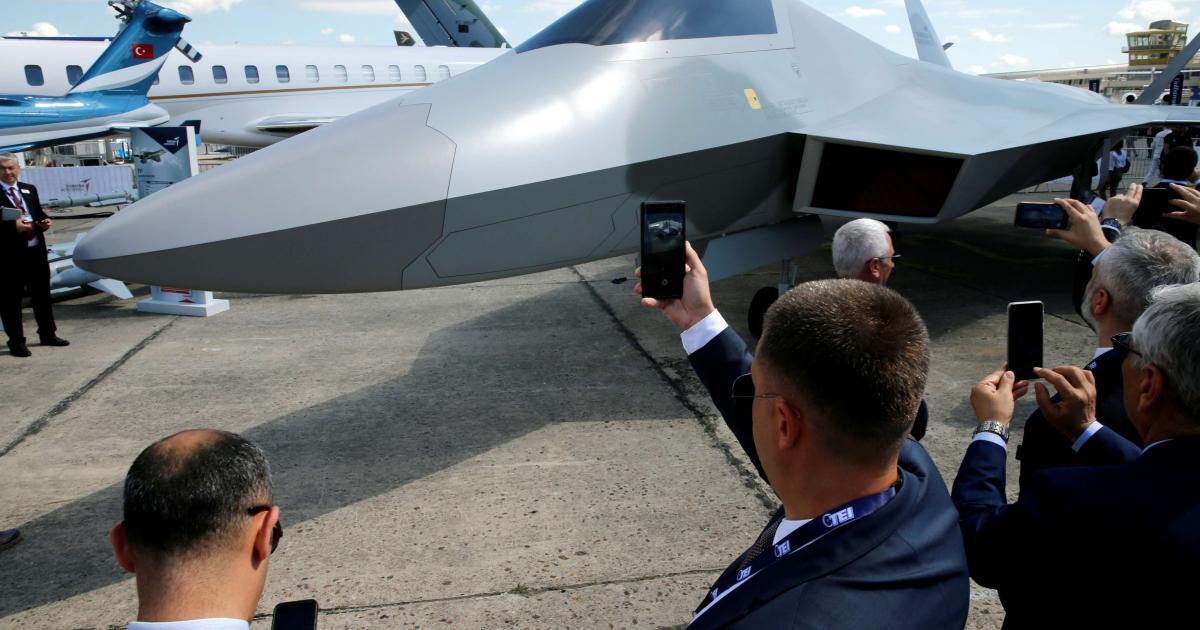 Turkey reveals TF-X next generation indigenous fighter jet 1