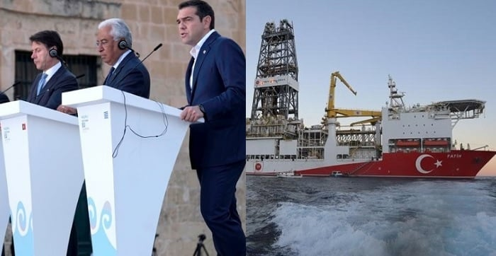 Europeans Back Cyprus as Turkey Starts Drilling 1
