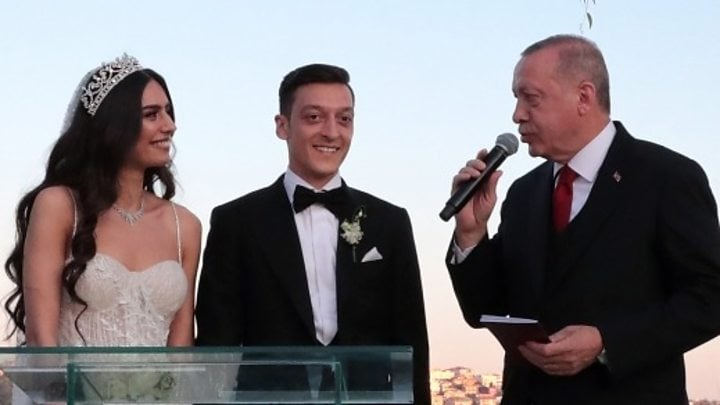 Turkey's Erdogan is best man at footballer Mesut Ozil's wedding 8