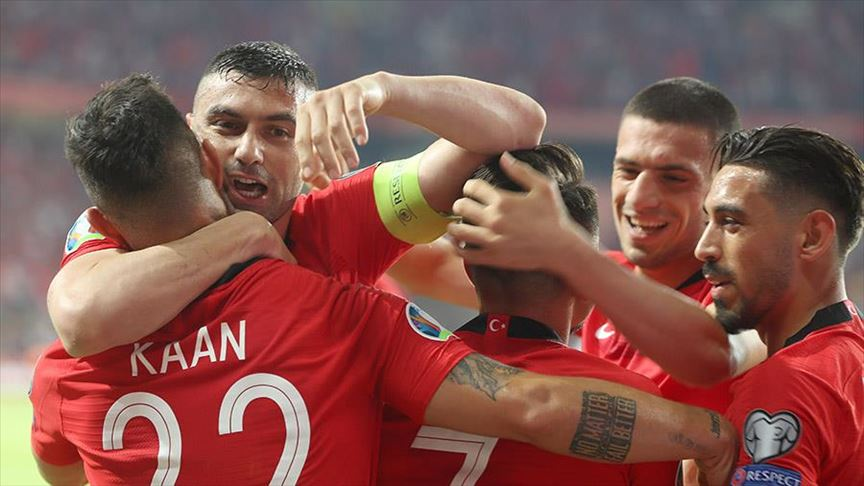 Turkey beat France 2-0 in EURO 2020 qualifiers 1