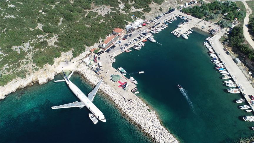 Turkey scuttles plane to boost scuba-diving tourism 1