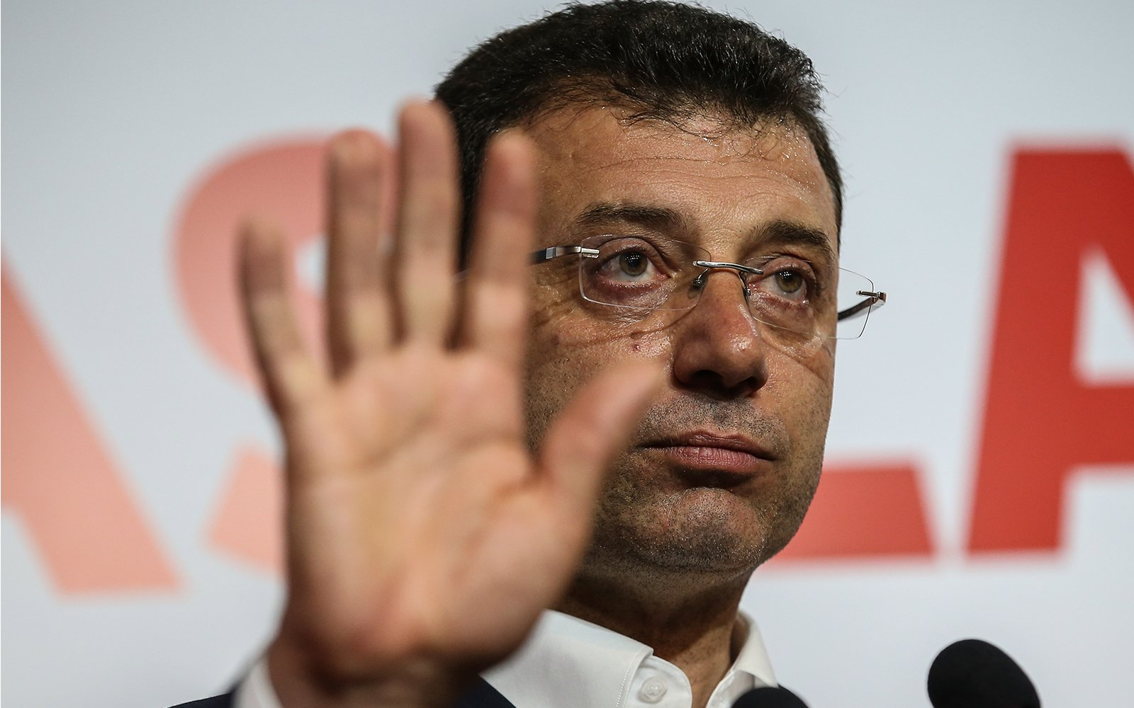 Ruling party attacks opposition's İmamoğlu over the joy of Greeks 1