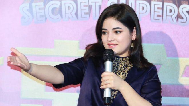 Zaira Wasim: Muslim actress quits Bollywood to 'follow faith' 4