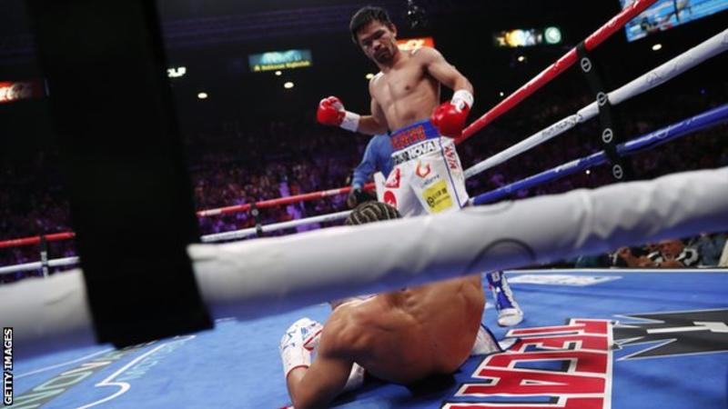 Manny Pacquiao beats Keith Thurman on points to take WBA Super welterweight title 5