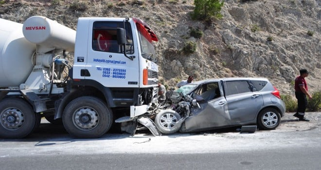 one week Traffic accidents in the TRNC: 3 dead, 27 injured 1