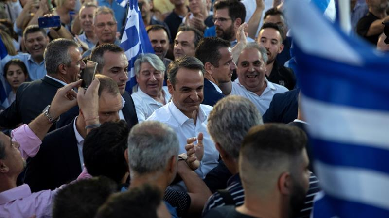 Greek elections Centre-right regains power with landslide win 16