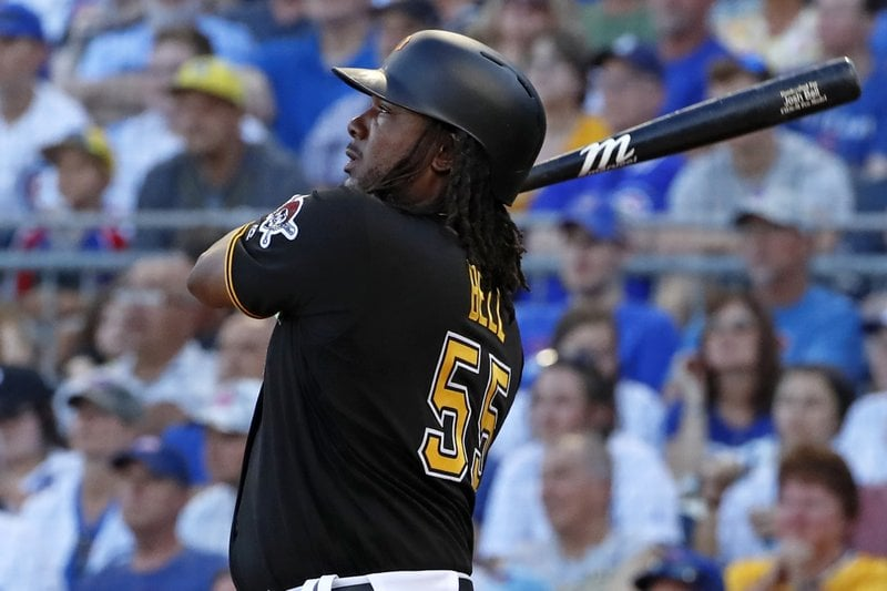 Bell mashes 3 home runs, Pirates thrash Cubs 18-5 1