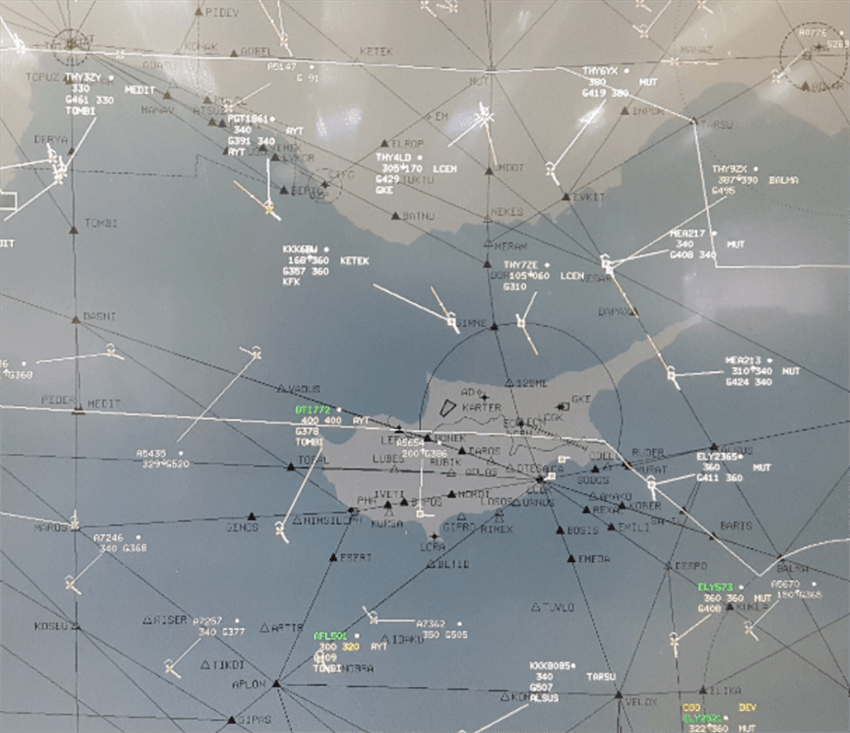 Ercan Air Traffic Control provides a service within international standards 1
