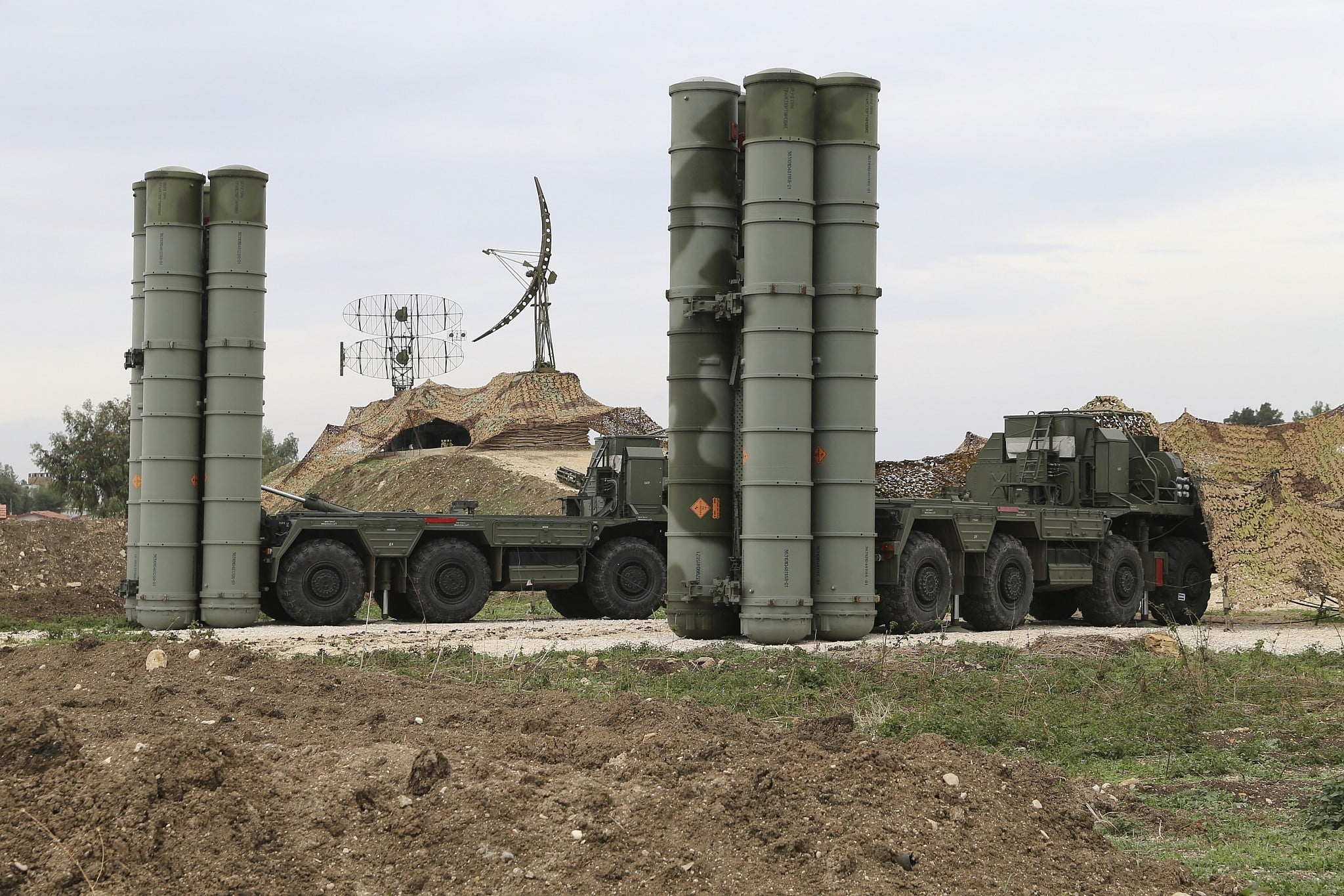 Turkey urges U.S. not to harm relations over S-400 missiles 14
