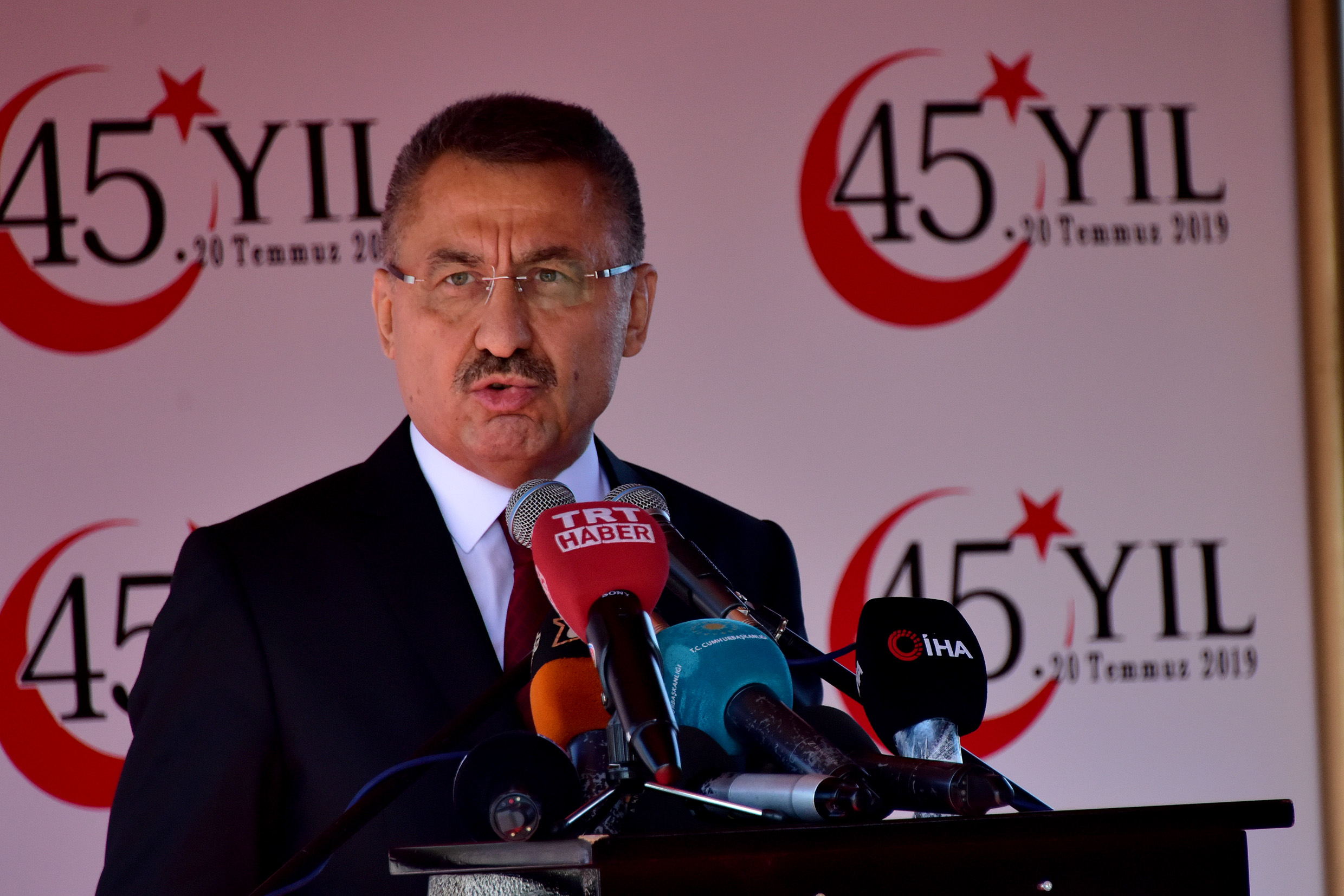 """Oktay: """"We are willing for a solution but we cannot accept the delaying tactics"""" 15"""
