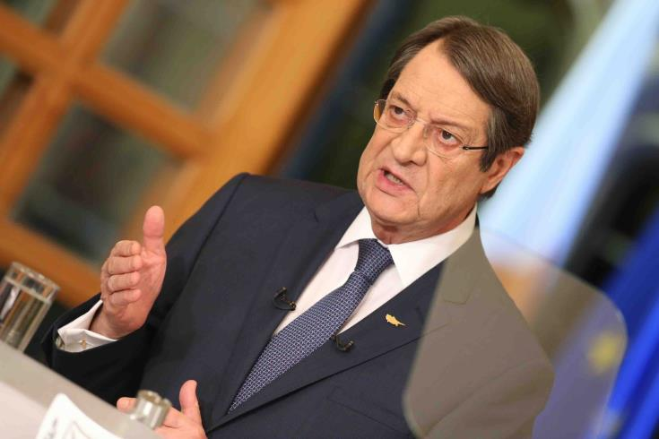 Anastasiades hopes that as barriers of communication are lifted, dividing line will also be removed 13