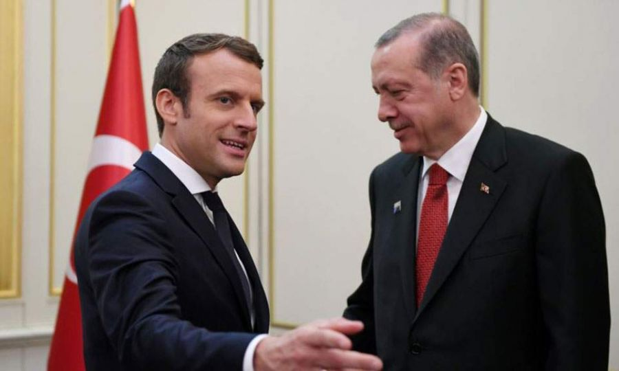 Erdogan tells Macron not to speak about Cyprus 1