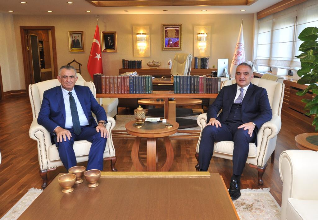 Çavuşoğlu met with Ersoy in Ankara 1