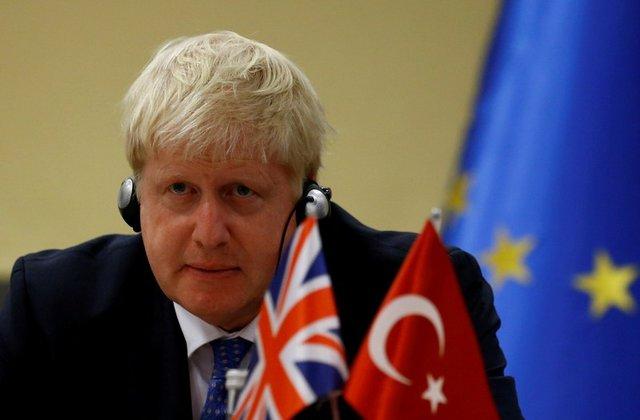 Turks welcome 'Ottoman grandson' Boris Johnson as British leader 1
