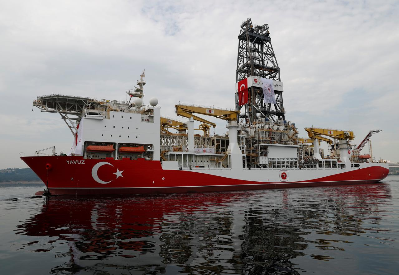 Turkey says second ship set to drill off Cyprus 12