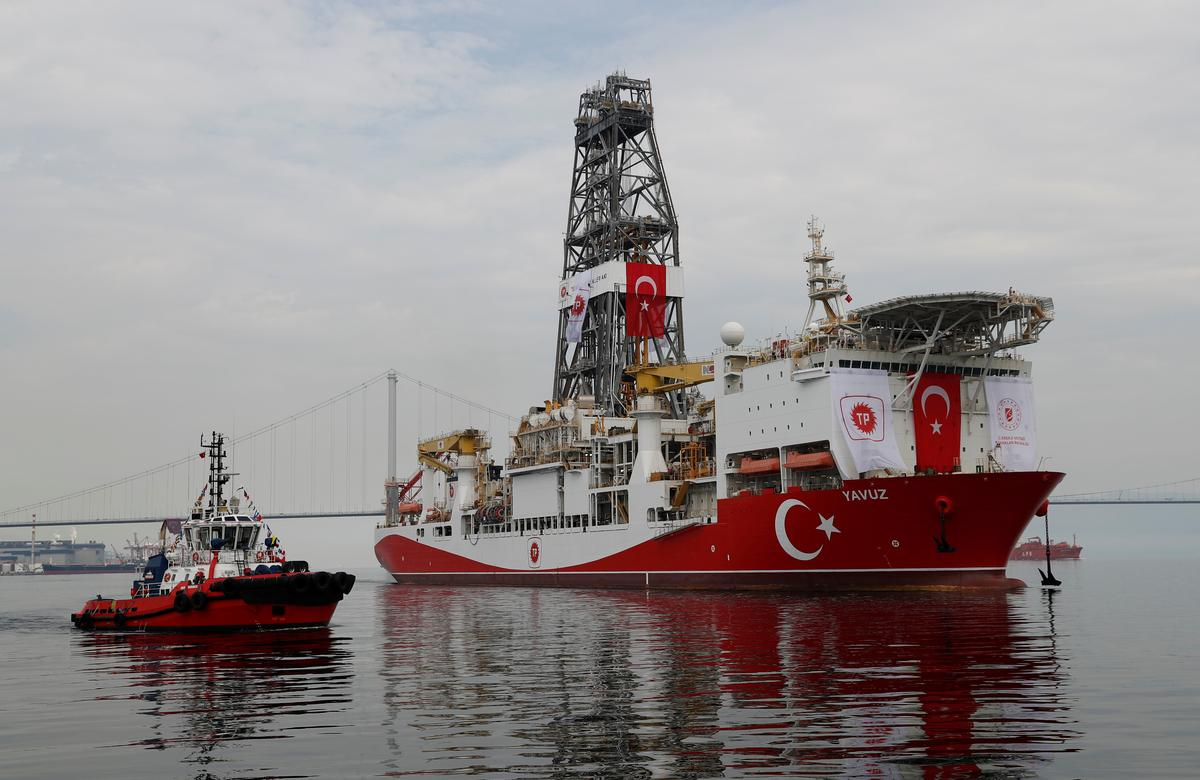 Turkey rejects Greek, EU claims that drilling off Cyprus illegitimate 1