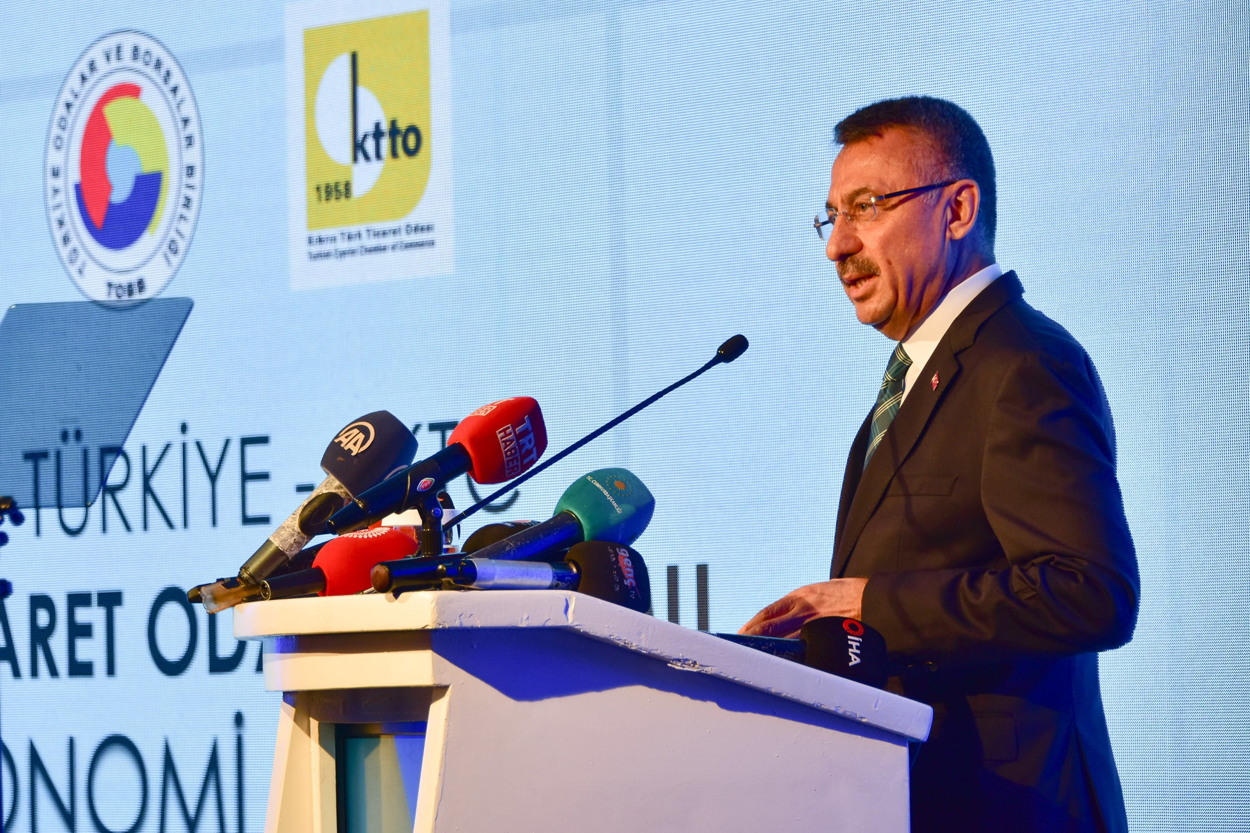 Oktay attended opening of the Turkish TRNC Chamber of Commerce Forum's 1st Economic Conference 15
