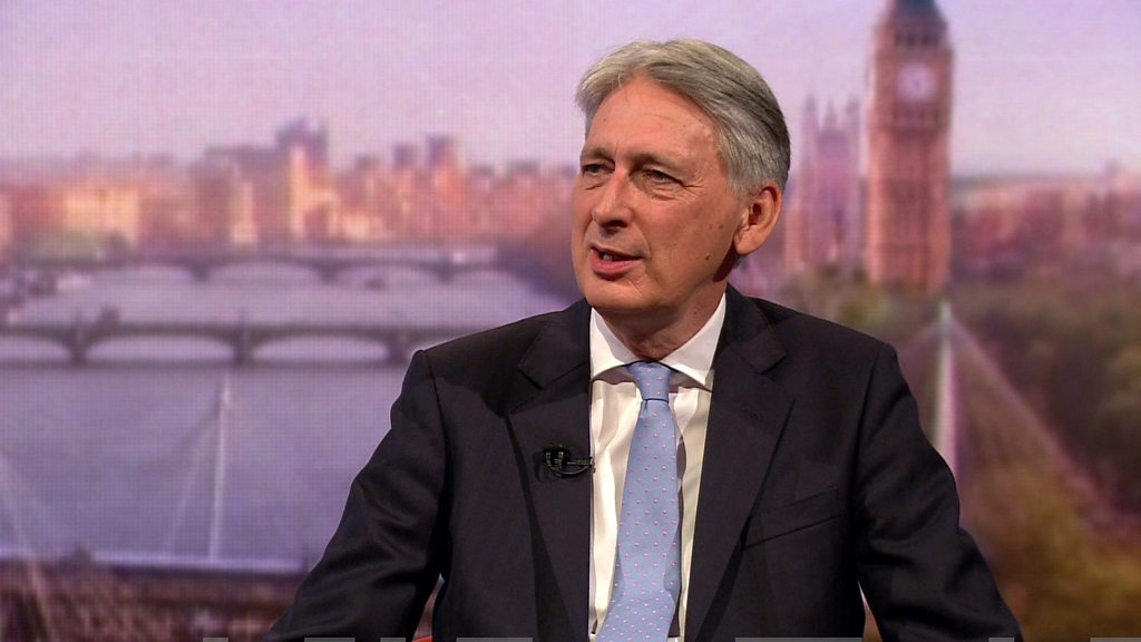 Philip Hammond plans to quit if Johnson becomes PM 1