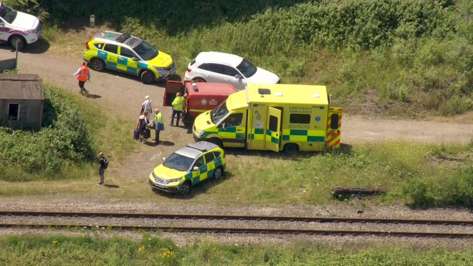 railway workers Killed