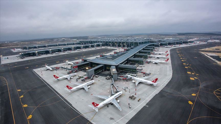 Istanbul Airport serves a flight every 74 seconds 15