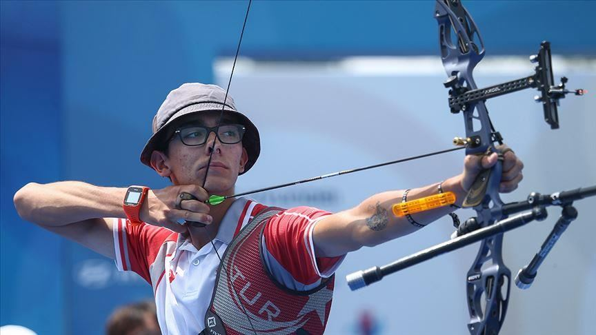 Turkish archer wins gold medals in World Cup 1