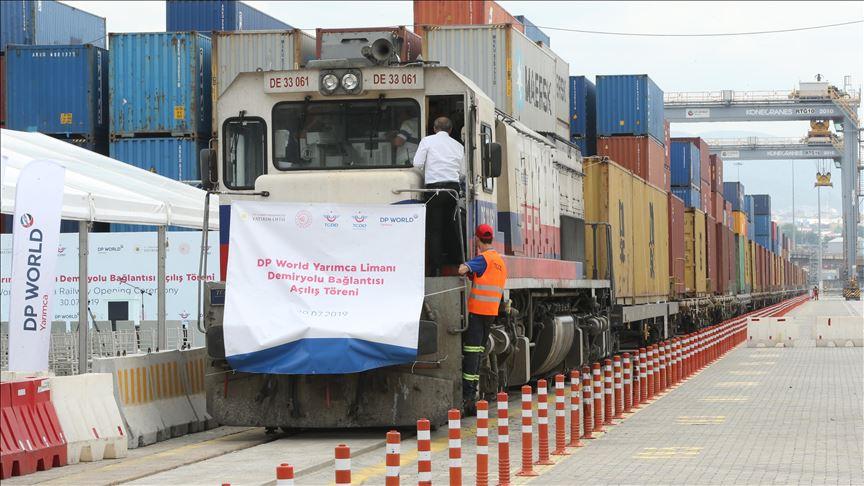 New rail line links Turkish port with China and UK 7