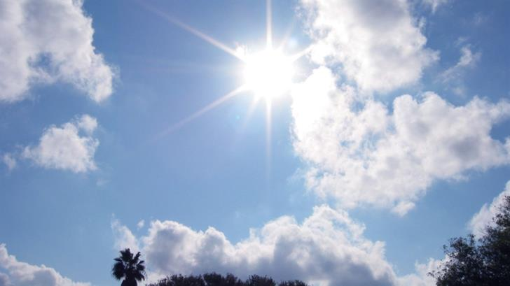 35 C inland today, possibility of isolated showers 3