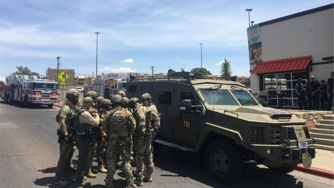 El Paso shooting: 'Multiple fatalities' in Texas mall attack 15