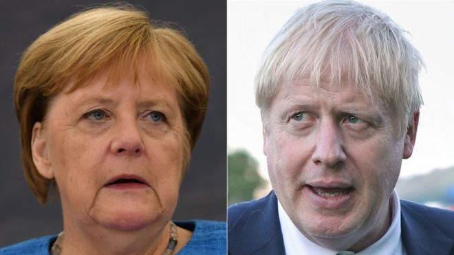 PM meets Angela Merkel with call to scrap backstop 1