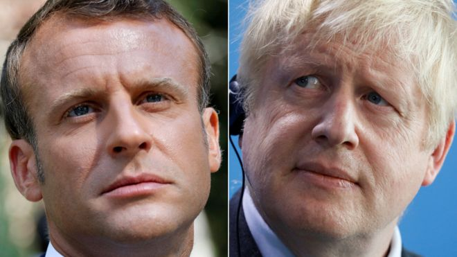 Johnson to meet Macron as French president downplays backstop hopes 1