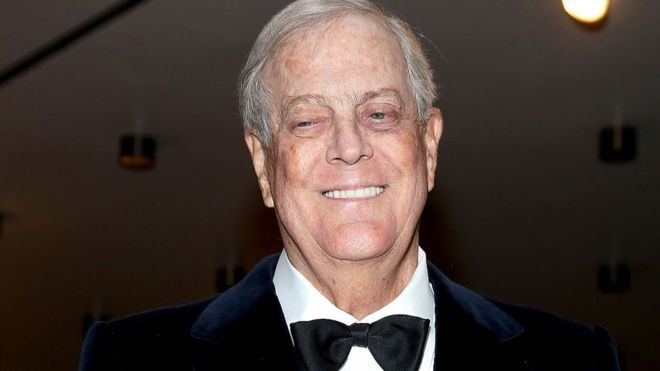 David Koch: Billionaire Republican donor dies aged 79 15