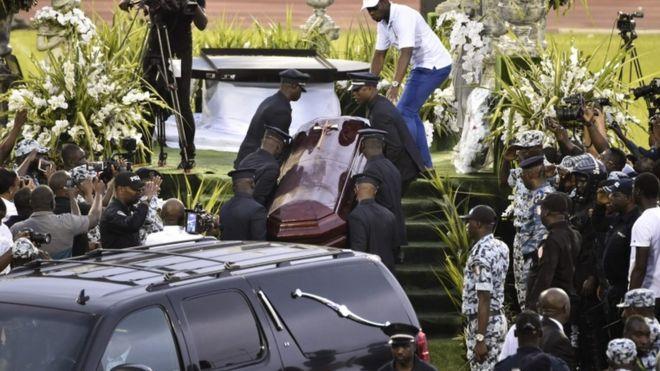 DJ Arafat Funeral