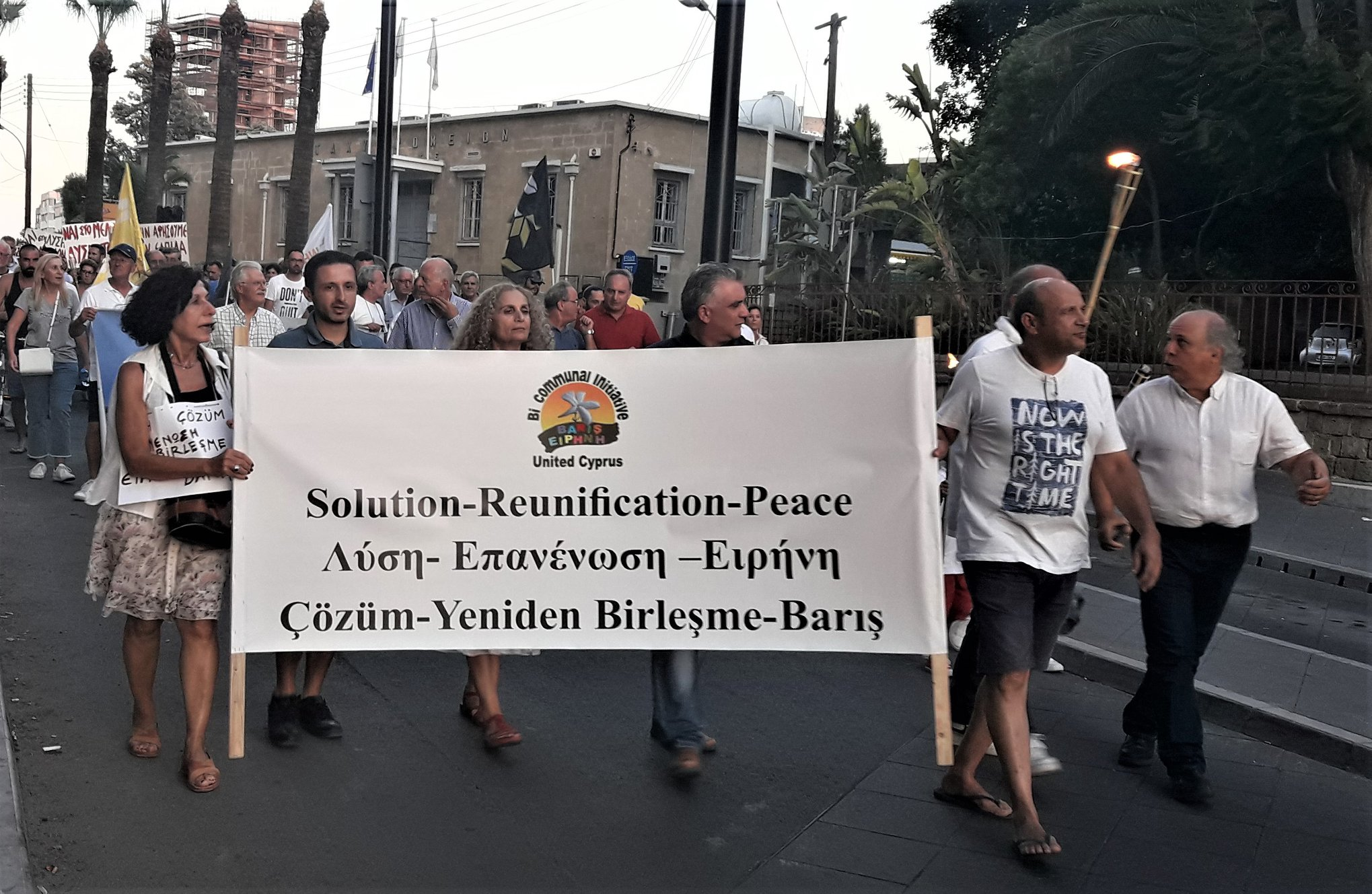 March for Peace Talks (Videos) 1