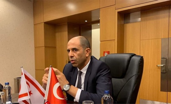Özersay: 'Non-recognition of each other is not an obstacle for cooperation' 1