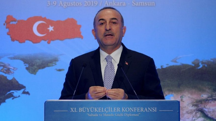 "Çavuşoğlu: ""The parties must agree on a common vision and base for the resumption of negotiations"" 1"