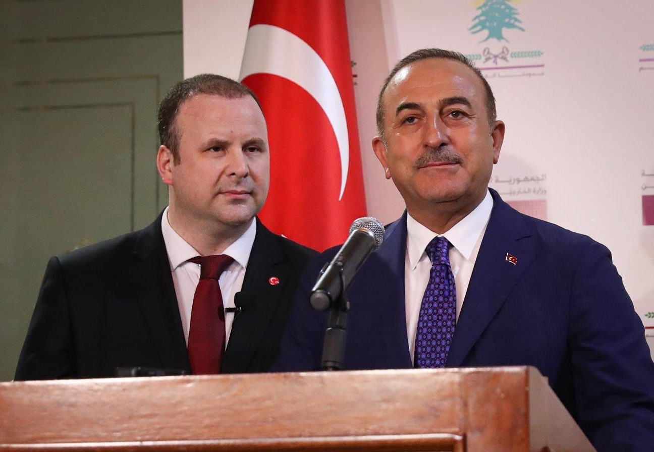 """Çavuşoğlu : """"Any agreement in the Eastern Mediterranean that does not include the Turkish Cypriot people or Turkey is not valid"""" 12"""